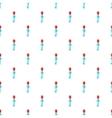 Hotel key pattern cartoon style vector image vector image