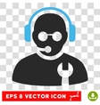 Service Operator Eps Icon vector image vector image
