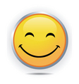 smiley face vector image vector image