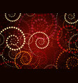african print fabric ethnic handmade ornament vector image vector image