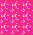 cute pink seamless pattern background with vector image vector image