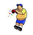 Fatboy Blow Trumpet vector image vector image