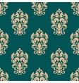 Foliage victorian seamless design vector image