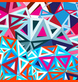 geometric abstract a background vector image vector image