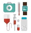 mobile health design vector image vector image