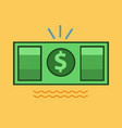 money icon set of great flat icons use for vector image vector image