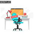 open vacancy jobs employment concept vector image vector image