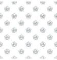 sv bike style pattern seamless vector image
