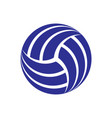 volleyball background symbol vector image