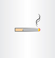 tobacco cigarette icon symbol vector image