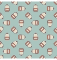Backpack pattern vector image