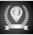 Bitcon icon design vector image vector image