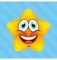 emoticon face design vector image