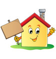 house theme image 2 vector image vector image