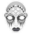 mask vector image vector image