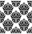 Symmetrical floral endlessly tracery vector image