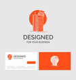 business logo template for building smart city vector image