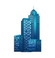 icon cityscape vector image vector image