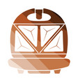 kitchen sandwich maker icon vector image vector image
