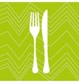 kitchen utencils design vector image vector image