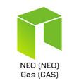 neo neo gas gas crypto c vector image vector image