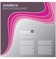 pink modern background vector image vector image