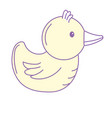 rubber duck game to entertainment in the shower vector image vector image