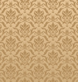 Seamless damask background vector image vector image