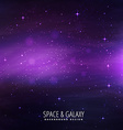 space background vector image vector image