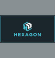 Xd hexagon logo design inspiration