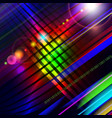 abstract technology-style colorful background vector image vector image