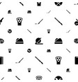 cut icons pattern seamless white background vector image vector image