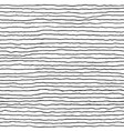 hand drawn striped background monochrome seamless vector image vector image