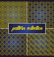 set or collection seamless and abstract vector image