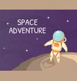 space adventure banner template exploration
