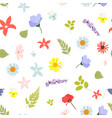 Summer abstract seamless pattern background with