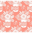 Vintage seamless pattern with a bouquet of flowers vector image vector image