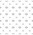 abstract seamless pattern grey rhombuses modern vector image