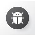 bug icon symbol premium quality isolated beetle vector image vector image