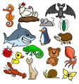 Cartoonish animals