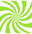 geometric swirl background - graphic from green vector image vector image