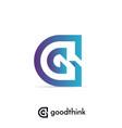 letter g logo design template vector image vector image