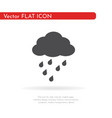 rain icon for web business finance and vector image vector image