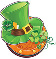 st patricks day symbol the leprechauns hat vector image vector image