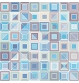 Abstract pattern with square tiles vector image vector image