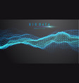 blue abstract technology background data