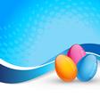 easter background design vector image vector image