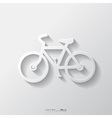 Hipster retro bicycle icon vector image vector image