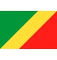 republic of the congo flag vector image vector image
