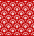 seamless pattern with overlapping circles vector image vector image